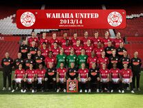 Wahaha united team photo