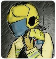 《逃犯條例》修訂風波消防員畫畫打氣2