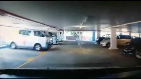 20160523 彩虹邨停車場MPV衝欄落樓片段
