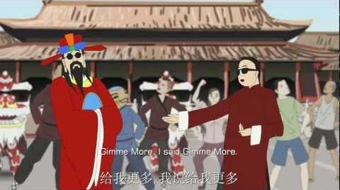 Oppa Cai Shen Dao - Gangnam Style Chinese New Year Parody 财神到 新年歌