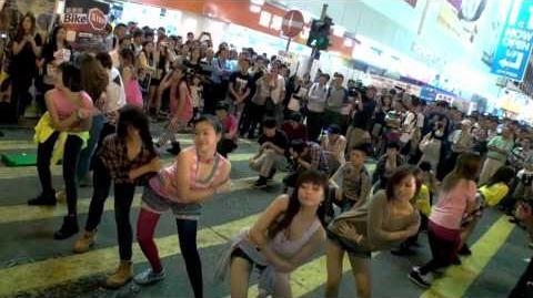 Gangnam Style Flash Mob Dancing Hong Kong - 江南快閃 - GANGNAM STYLE
