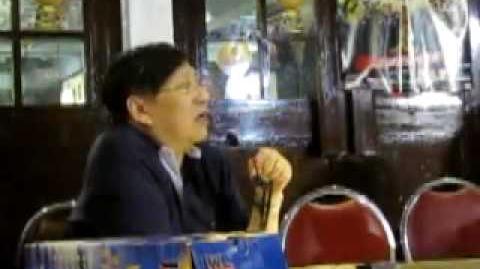 蕭若元於2010年5月25日網聚時,當眾訓斥人網倆大負資產為分台舖路!(2 4)