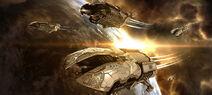 Корабли Амаррской Империи