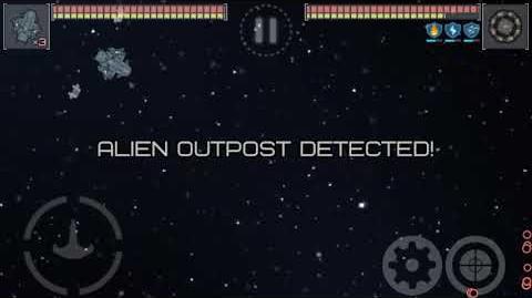 Event Horizon- Frontier ISS Galleon against Alien Outpost( autopilot)
