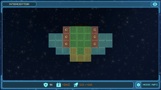 Interceptor layout
