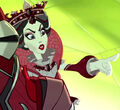 Way Too Wonderland - Red Queen commanding an attack.jpg