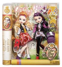 Ever-After-High-School-Spirit-Apple-White-and-Raven-Queen-Doll-2-Pack-0-0