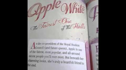 EVER AFTER HIGH APPLE WHITE'S STORY