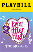 Ever After High - The Musical (Playbill)