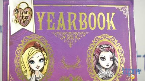 Ever After High Yearbook from Scholastic