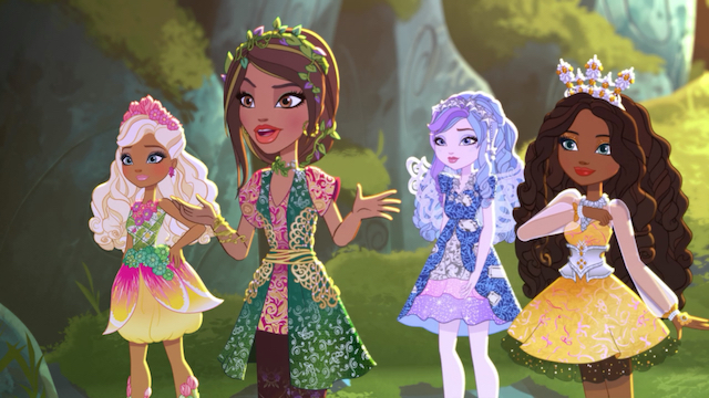 Nina Thumbellcartoon Ever After High Wiki Fandom Powered By Wikia