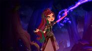 Dragon Games - Raven's magic blast