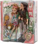 Ever after high ashlynn ella & hunter huntsman doll 2-pack