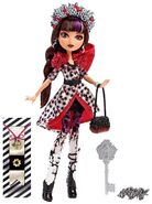 Doll stockphotography - Spring Unsprung Cerise