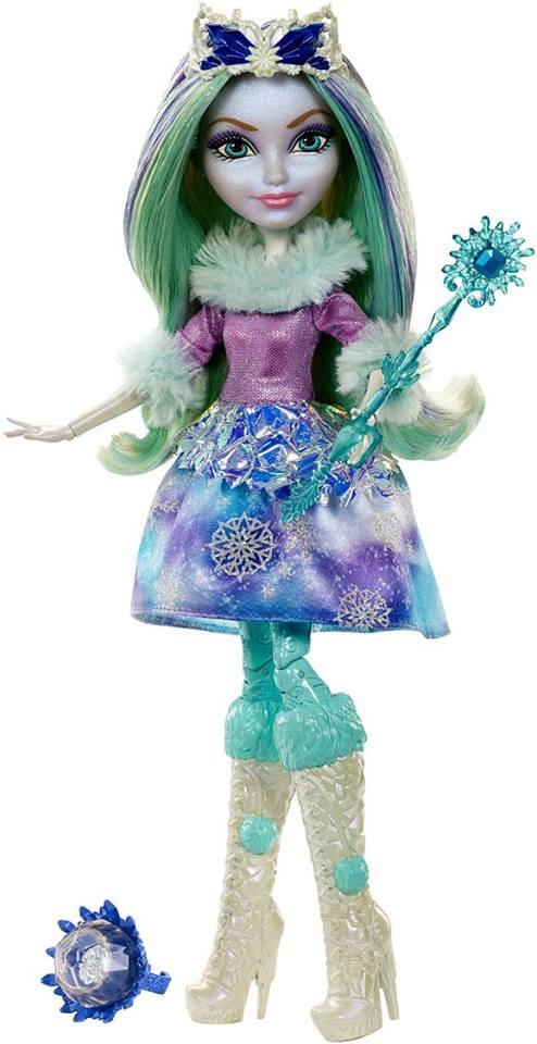Ever After High Doll~Epic Winter Sparklizer~Crystal/'s Pet Owl