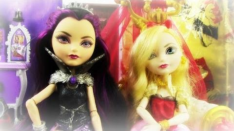 EVER AFTER HIGH - Raven Queen and Apple White's Q & A