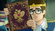 True Hearts Day Part 1 - Dexter has a book