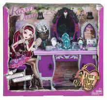 Bdb17 ever after high getting fairest raven queen destiny vanity accessory-en-us xxx 1