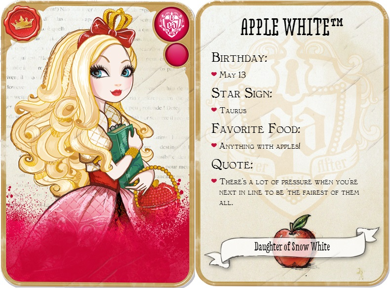 Apple White Daughter Of Snow