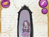 Espelho mágico da Raven Queen