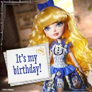 Facebook - best wishes to Blondie
