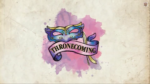 Thronecoming logo