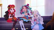 Dragon Games - girls playing cards
