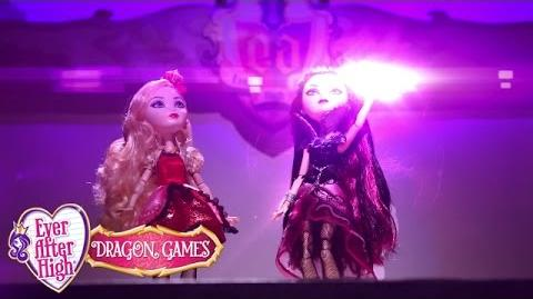Stop Motion Ever After High On Set Dragon Games Ever After High