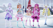Epic winter - Crystal, Ashlynn, Rosabella, Briar and Blondie