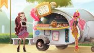 Ginger in the BreadHOUSE - Ginger's treat shack