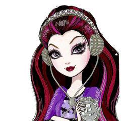 Raven Queen en la línea de muñecas