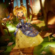 Facebook - Blondie Thronecoming doll