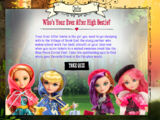 Who's Your Ever After High Bestie?