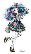 Mattel book art - Madeline Hatter