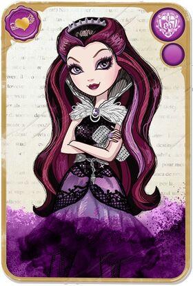 Website - Raven Queen card