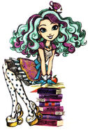 Book art - Madeline Hatter I