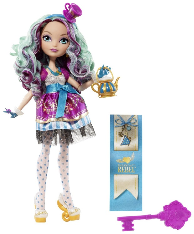 "Ever After High Madeline Hatter Extra Tall 17/"" Doll Outfit Headband /& Cuffs NEW"
