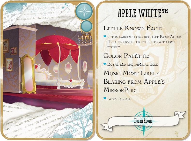 Apple White Dorm Room