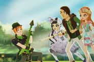 Sparow , Ashlynn , Duchess and Hunter