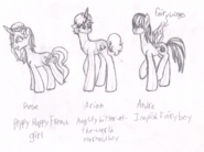 EAH pony versions