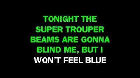 Abba - Super Trouper (Karaoke)