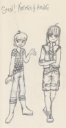 Smol!Anteros and Andre