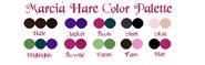 Marcia Hare Color Palette