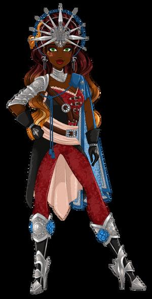 Scarlet Anne d'Herblay Dragon Games