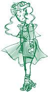 Ozimina sketch green