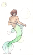 Merman!Arion with New Color Scheme