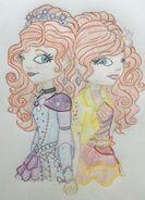 Rainbow Twins - Art Trade