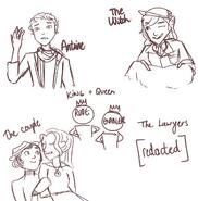 Minor manhunt characters