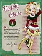 Destiny Claus Profile Art