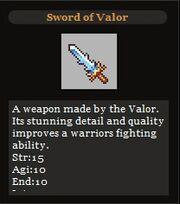 Sword Of Valor